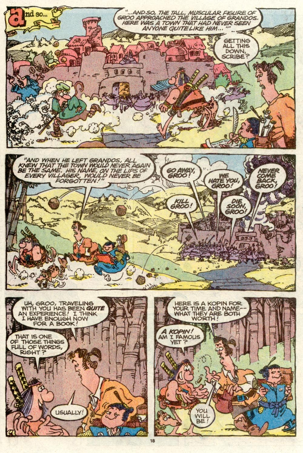 Read online Sergio Aragonés Groo the Wanderer comic -  Issue #70 - 13
