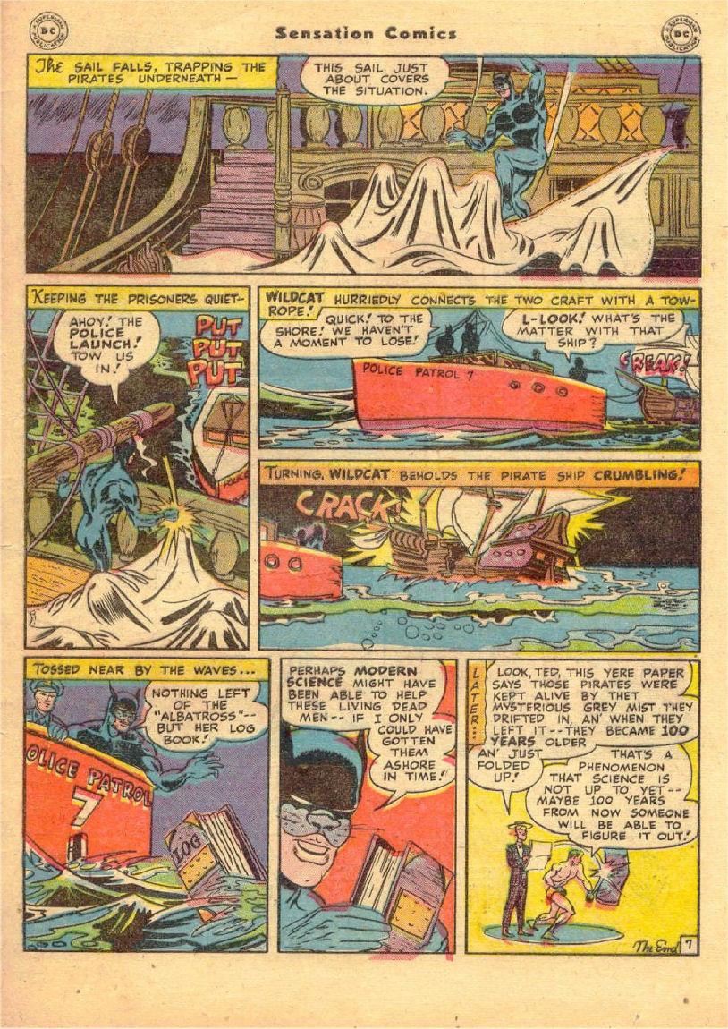 Read online Sensation (Mystery) Comics comic -  Issue #70 - 48