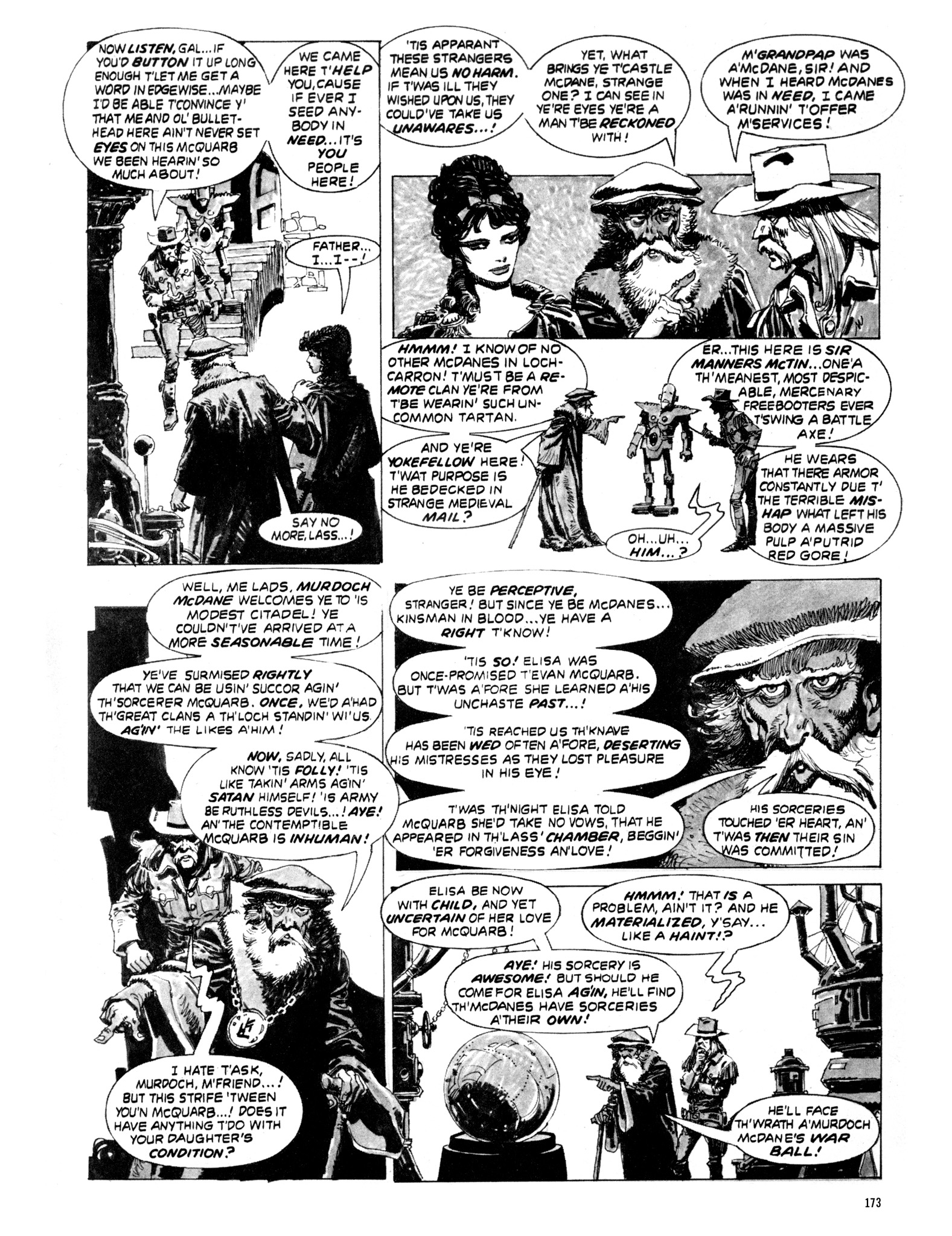 Read online Eerie Archives comic -  Issue # TPB 20 - 173