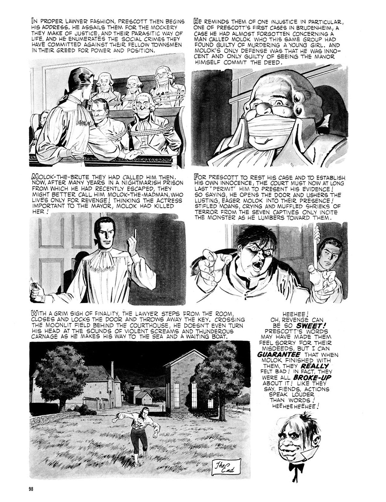 Read online Eerie Archives comic -  Issue # TPB 2 - 99