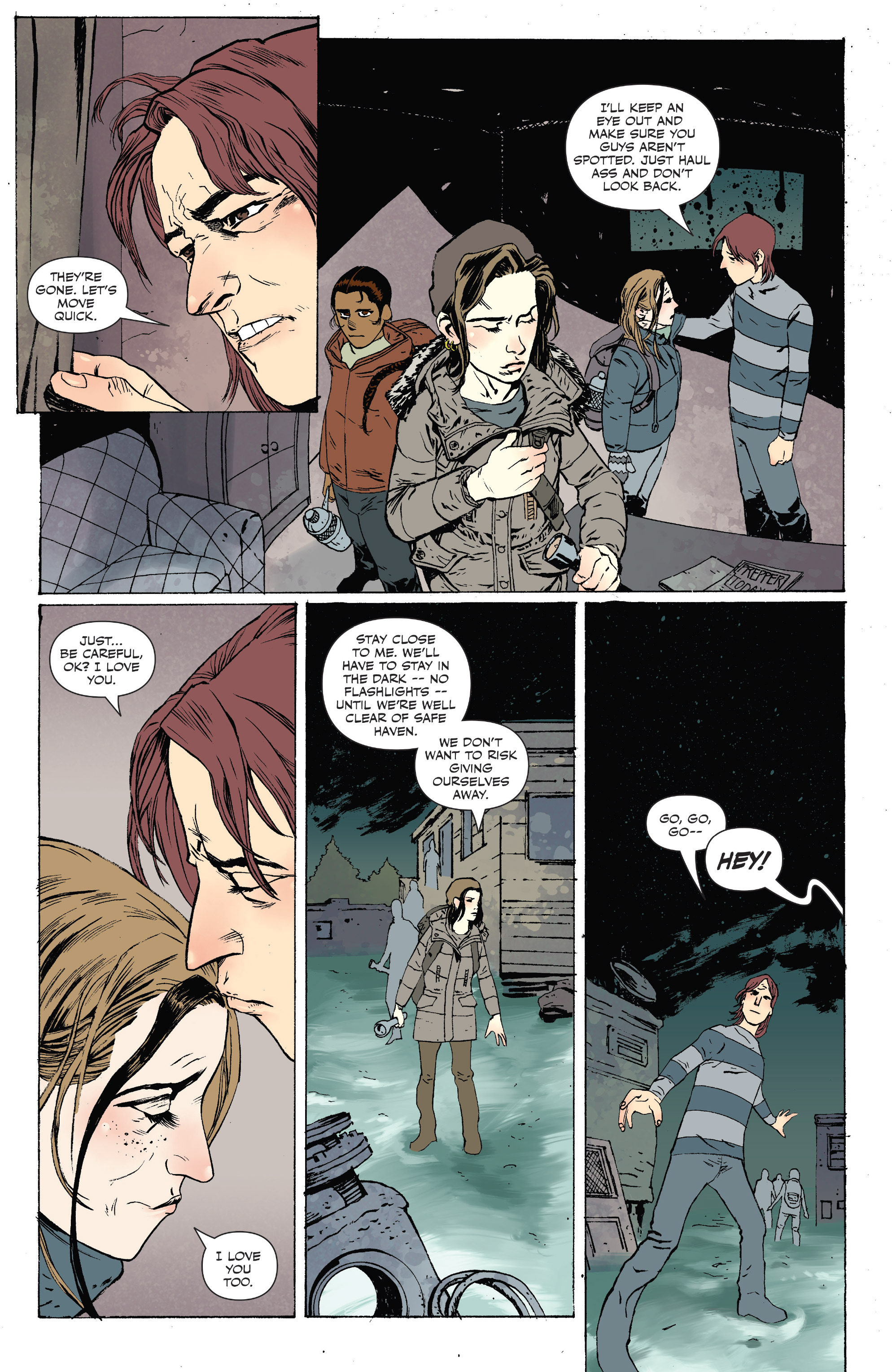 Read online Sheltered comic -  Issue #10 - 21