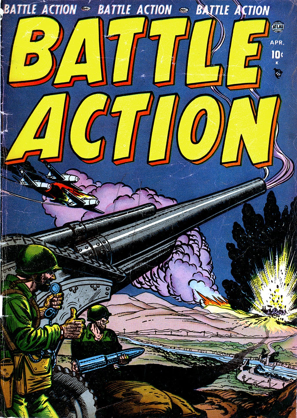 Battle Action 2 Page 1