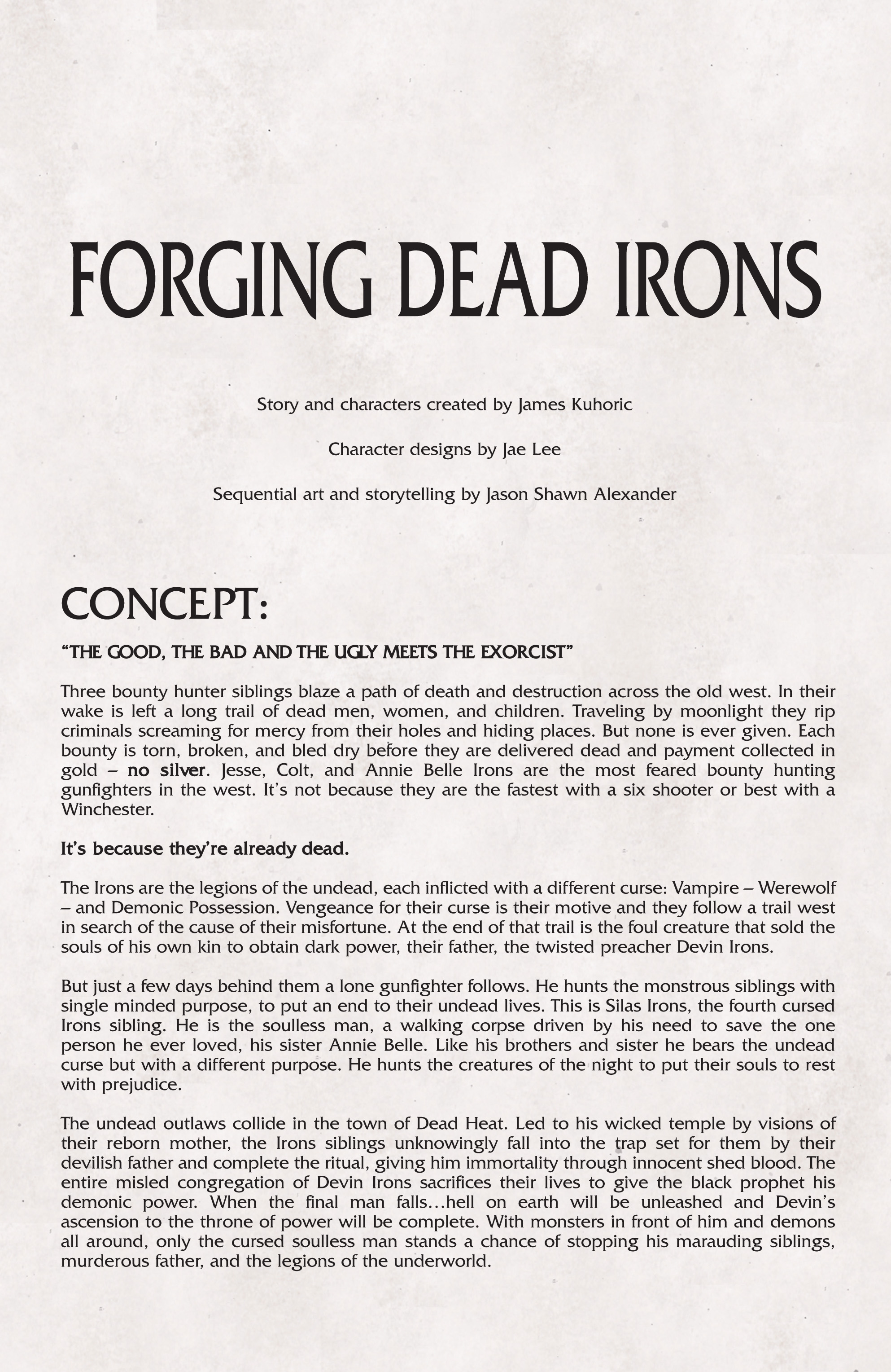 Read online Dead Irons comic -  Issue # TPB - 103