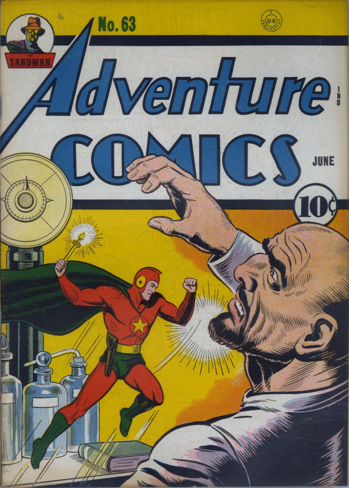 Read online Adventure Comics (1938) comic -  Issue #63 - 2