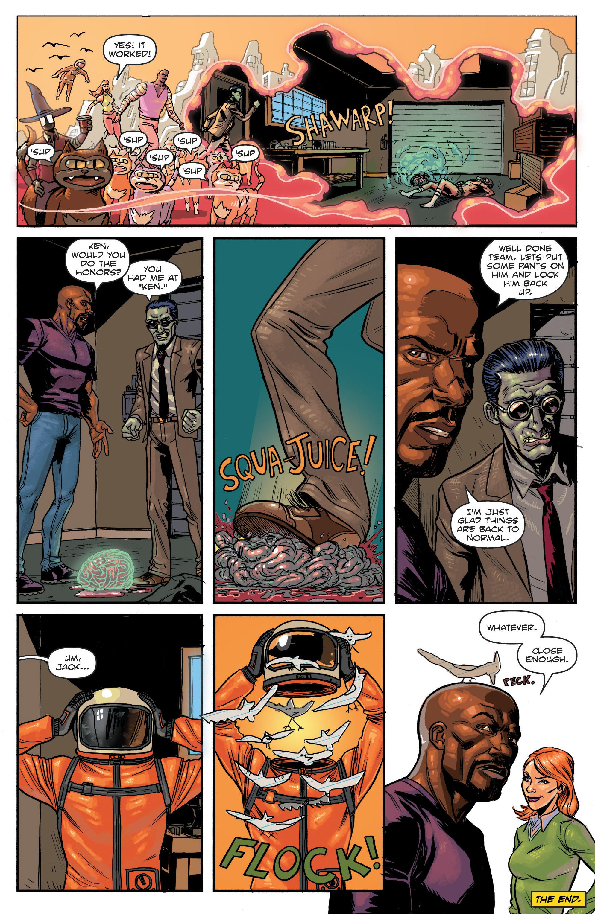 Read online Hoax Hunters (2012) comic -  Issue # TPB 3 - 114