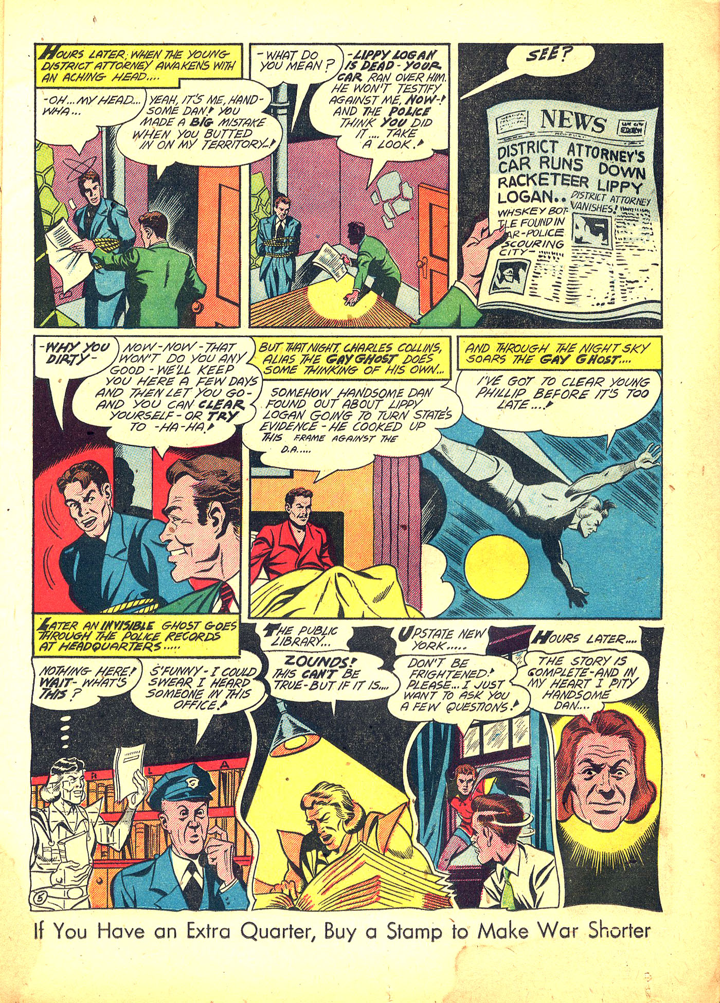 Read online Sensation (Mystery) Comics comic -  Issue #31 - 21