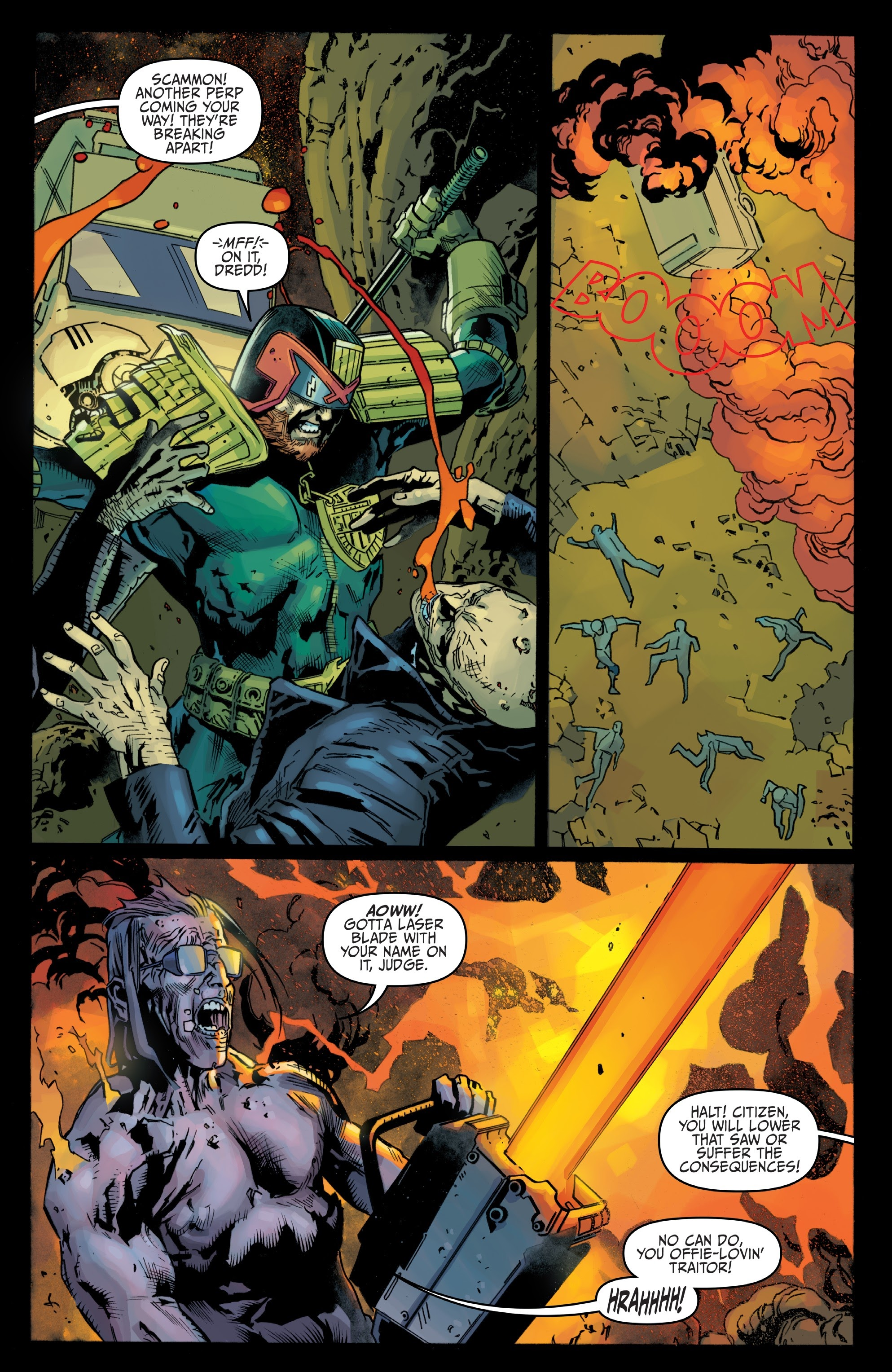 Judge Dredd: Toxic #4 #4 - English 14