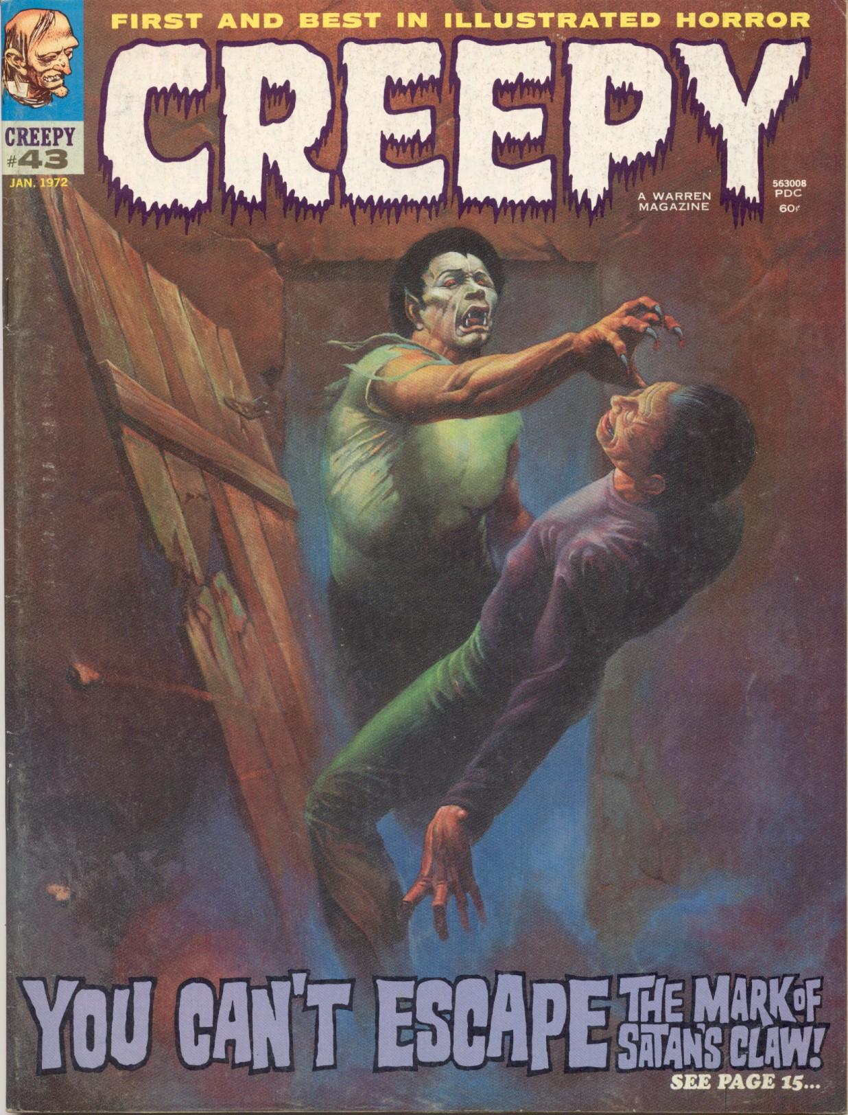 Creepy (1964) 43 Page 1