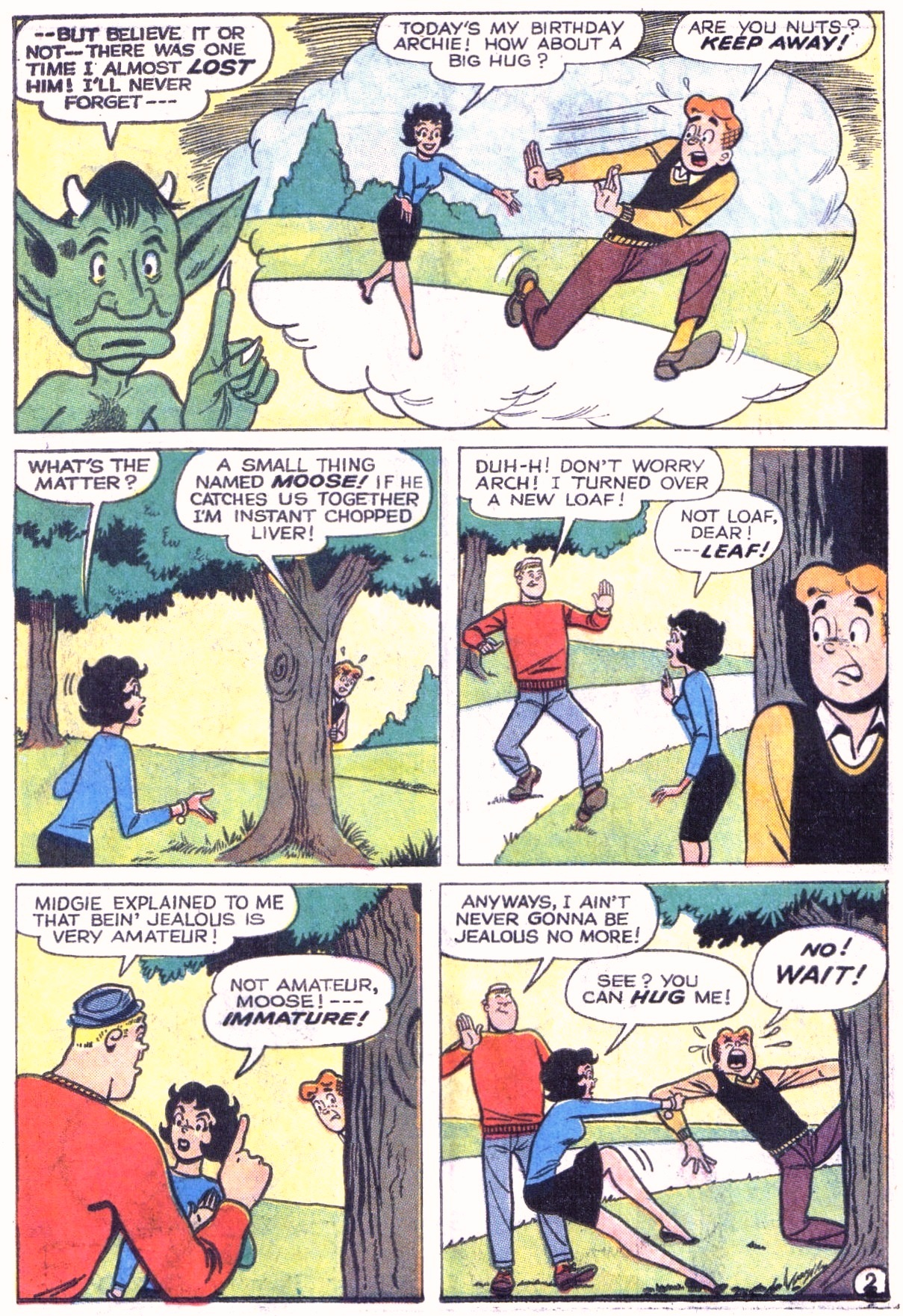 Read online Archie (1960) comic -  Issue #151 - 30