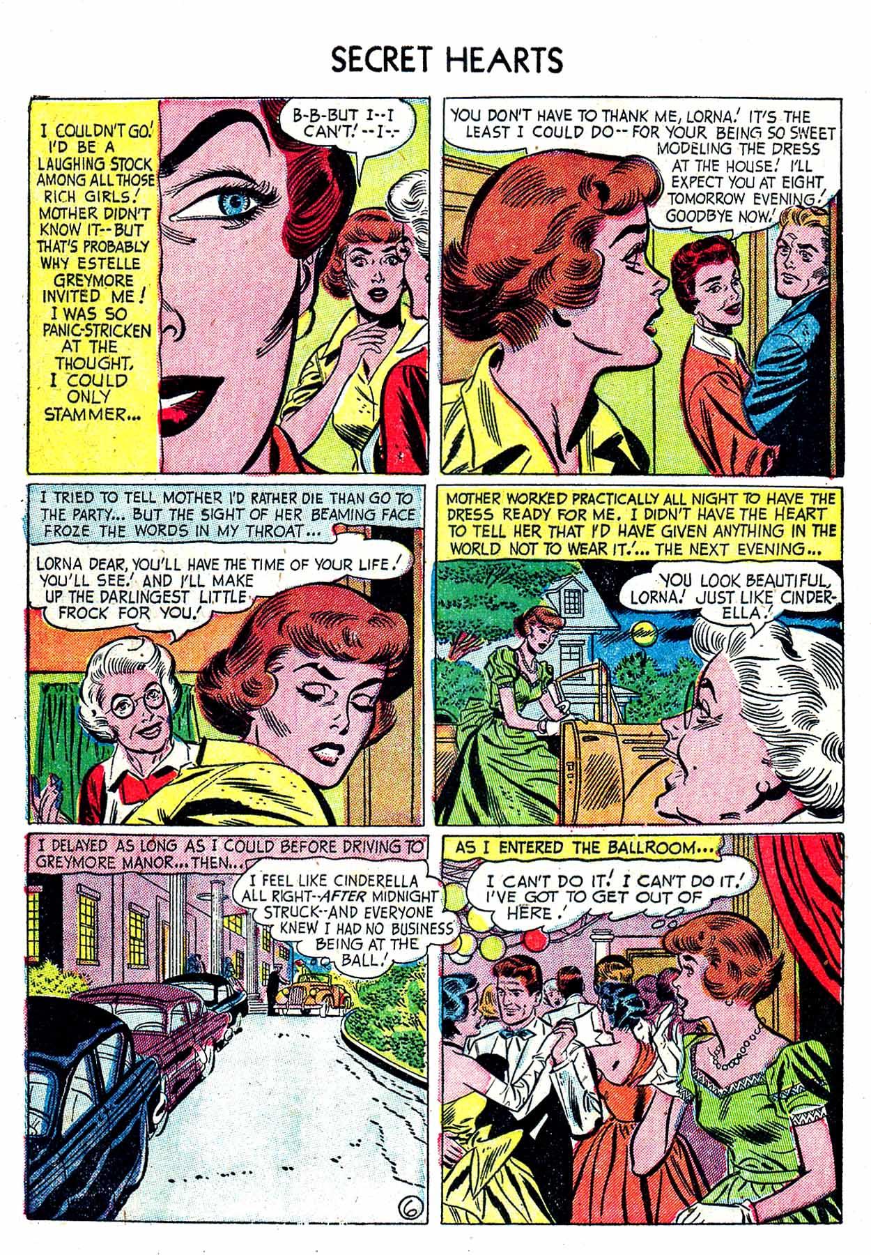 Read online Secret Hearts comic -  Issue #19 - 32