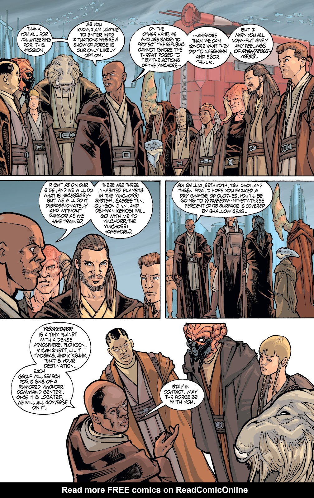 Read online Star Wars Legends: Rise of the Sith - Epic Collection comic -  Issue # TPB 1 (Part 4) - 80