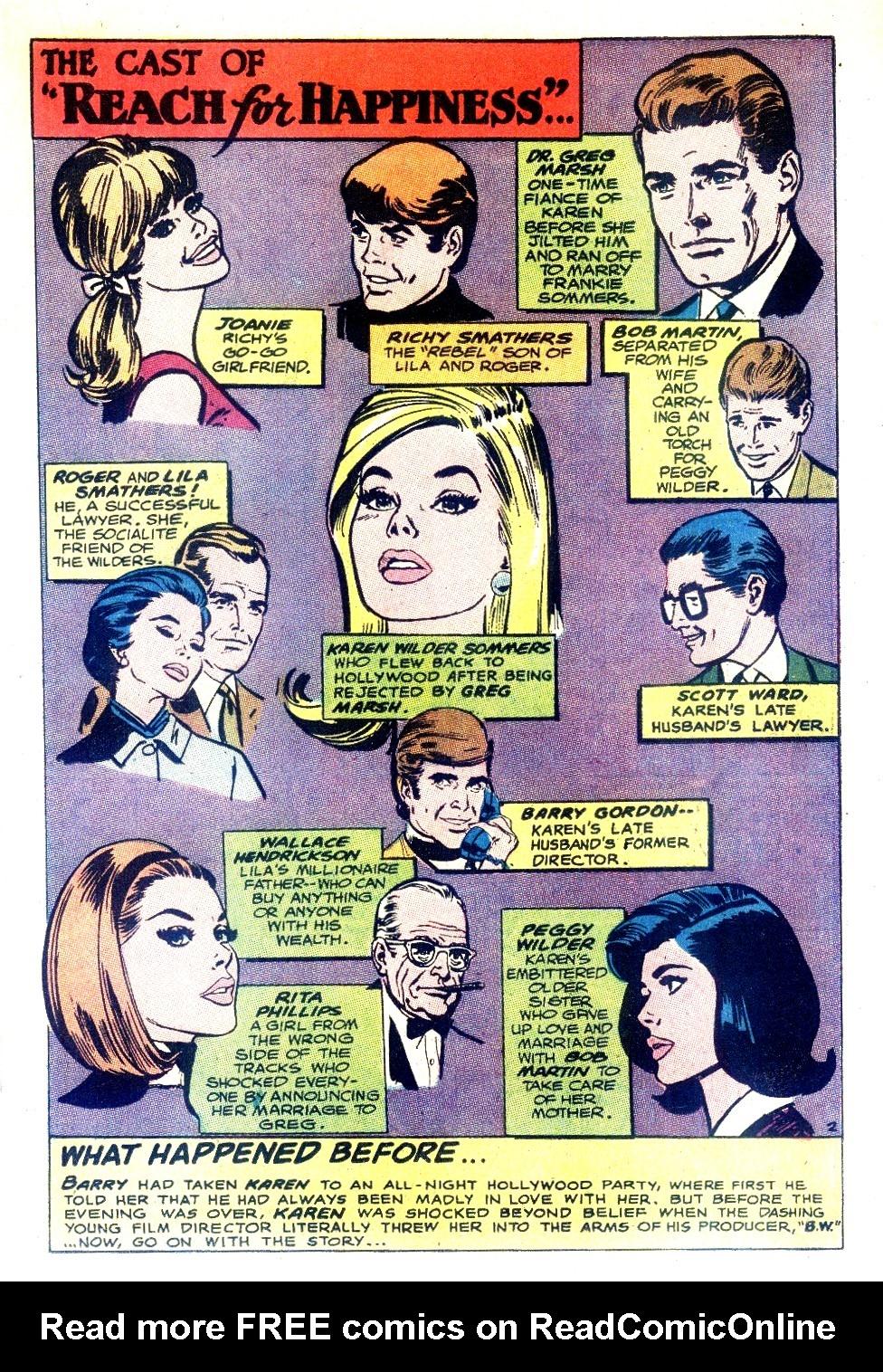 Read online Secret Hearts comic -  Issue #130 - 19