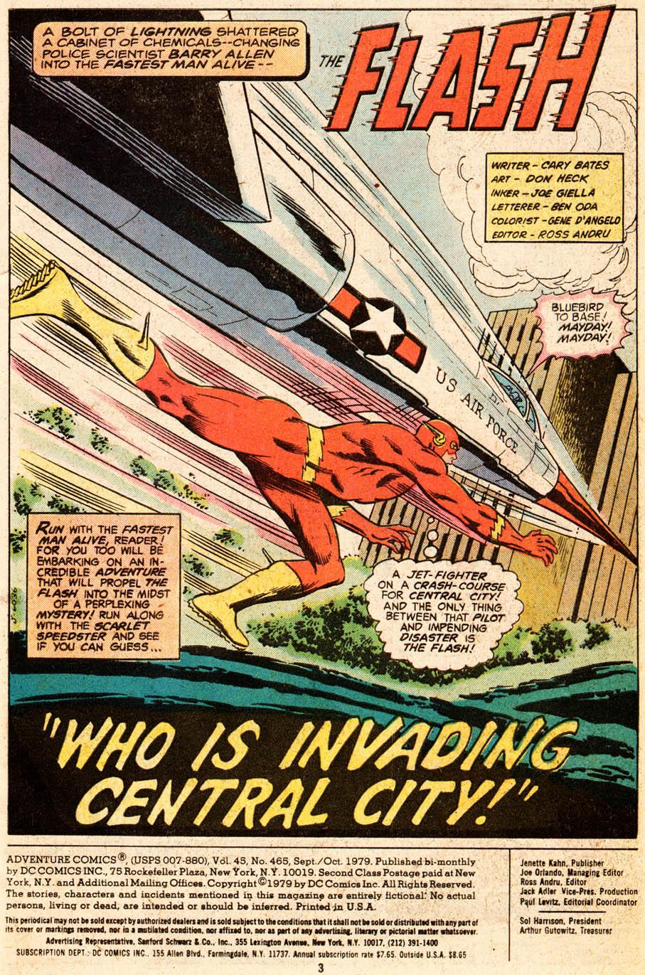 Read online Adventure Comics (1938) comic -  Issue #465 - 4