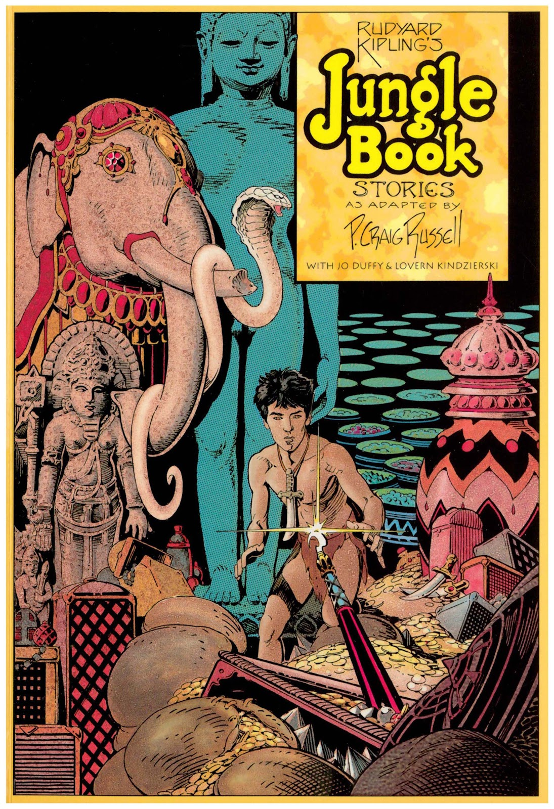 Jungle Book Stories issue TPB - Page 1
