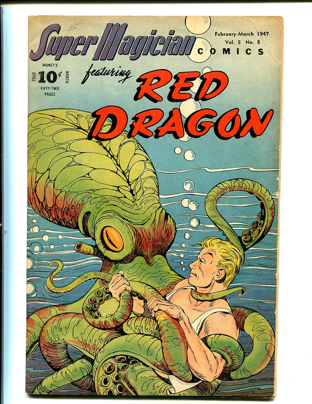Super-Magician Comics issue 56 - Page 1