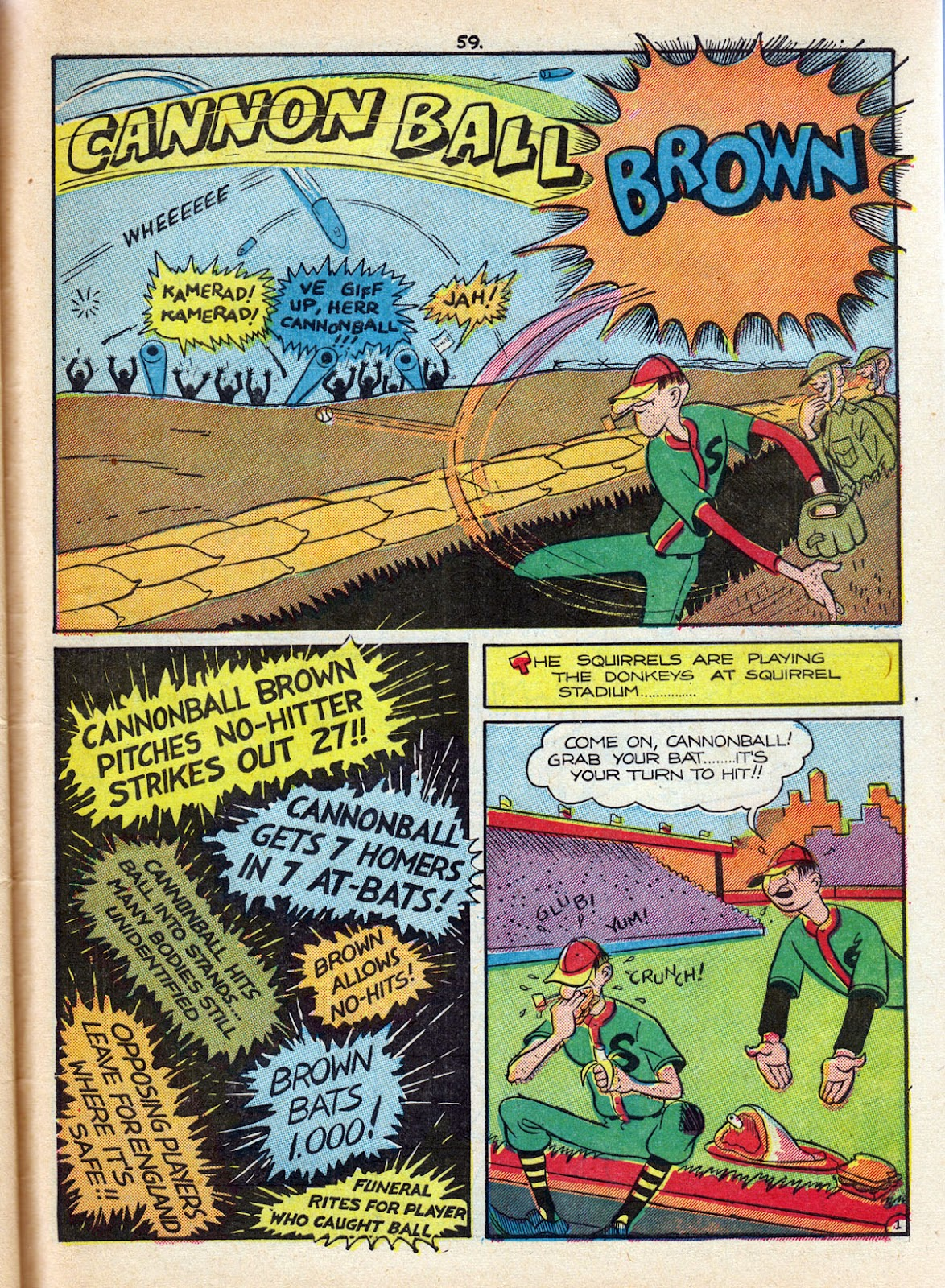 Read online Comedy Comics (1942) comic -  Issue #10 - 61