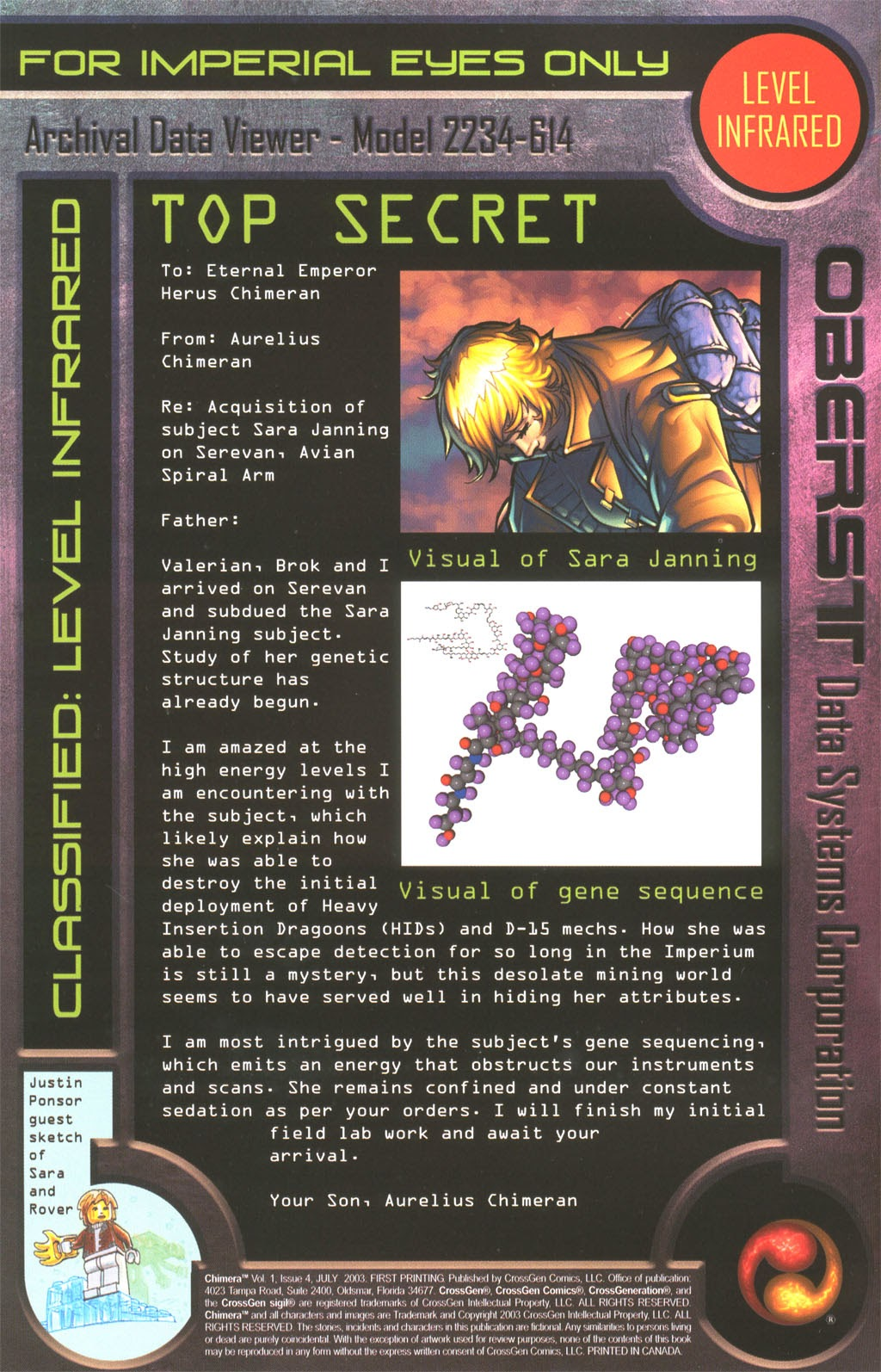Read online Chimera comic -  Issue #4 - 1