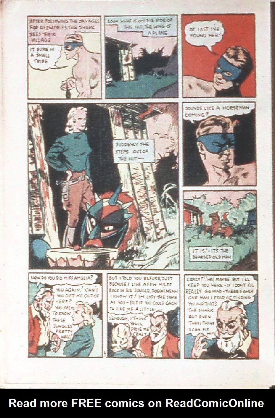 Read online Amazing Man Comics comic -  Issue #18 - 44