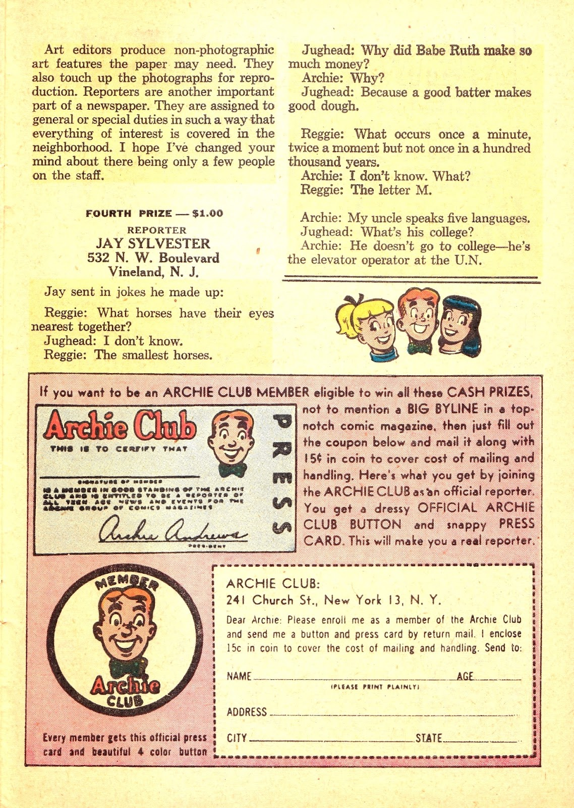 Read online Archie (1960) comic -  Issue #121 - 27