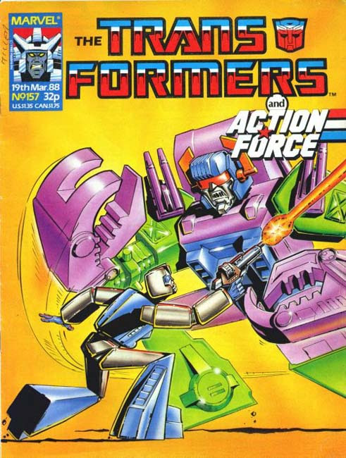 The Transformers (UK) 157 Page 1