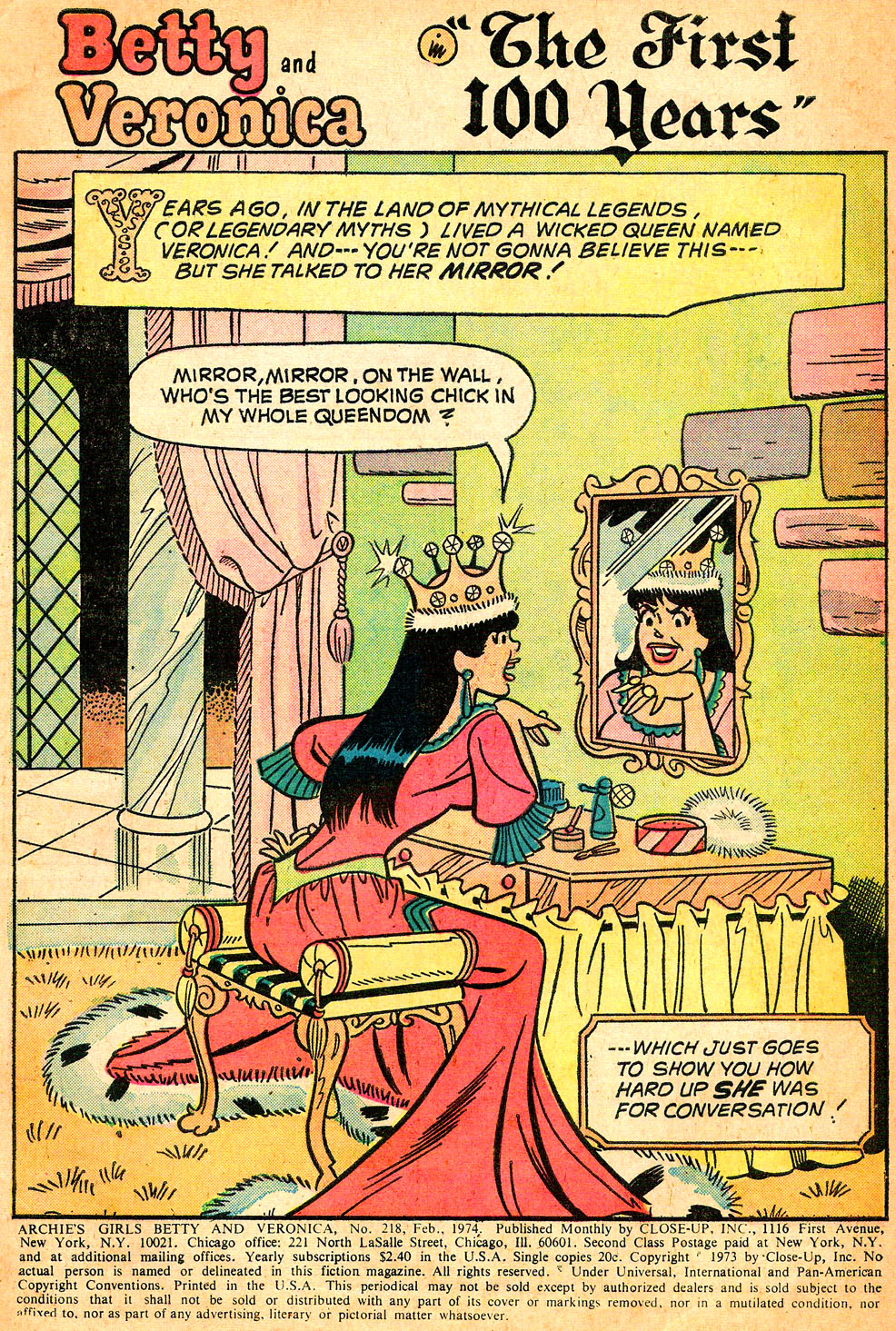 Read online Archie's Girls Betty and Veronica comic -  Issue #218 - 3