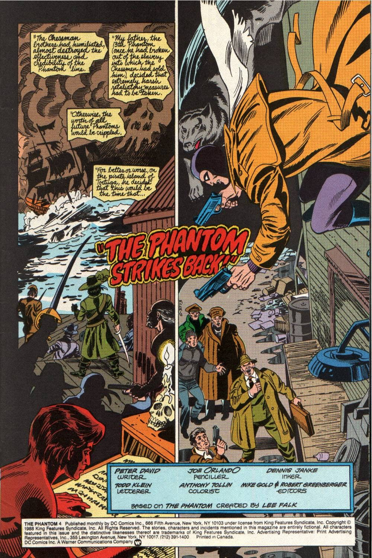 Read online The Phantom (1988) comic -  Issue #4 - 2