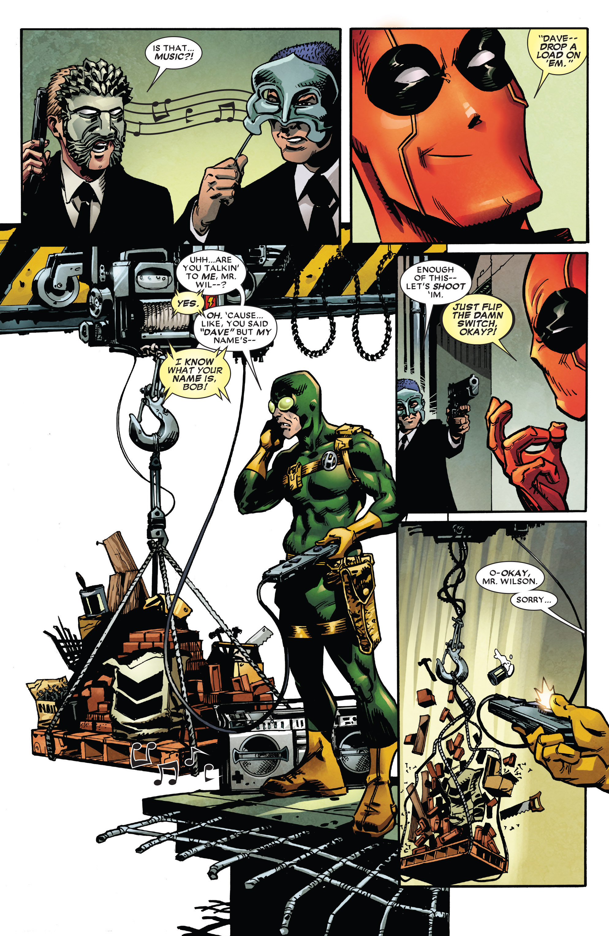 Read online True Believers: Deadpool the Musical comic -  Issue # Full - 5
