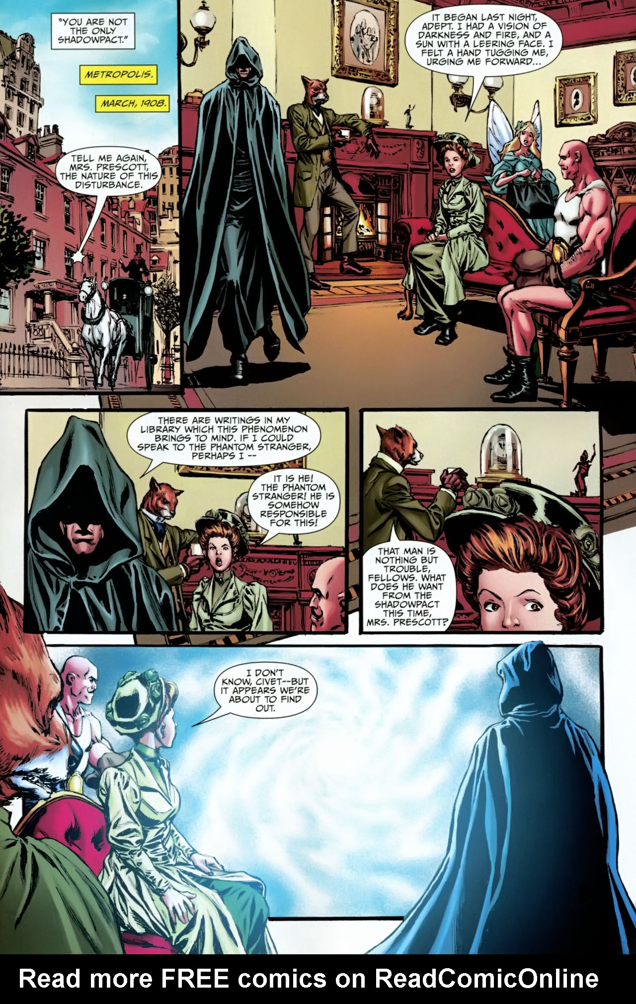 Read online Shadowpact comic -  Issue #23 - 21