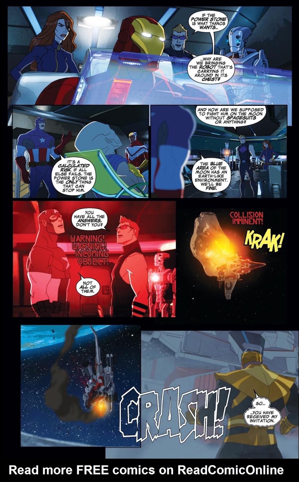 Read online Marvel Universe Avengers Assemble Season 2 comic -  Issue #2 - 7