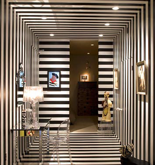Art Deco Interior: THE DAYLIGHT: Art + Interiors: Black And White Optical