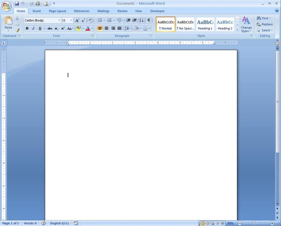 Making A Resume On Microsoft Word 2007 How To Do