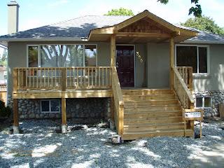 j j rempel construction: front porch project