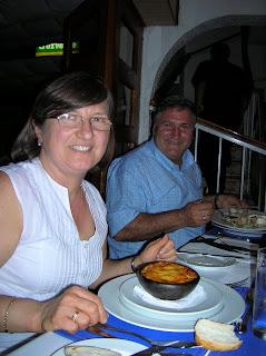 Almejas chilenas, restaurante miraolas, Santiago de Chile, Chile, vuelta al mundo, round the world, La vuelta al mundo de Asun y Ricardo