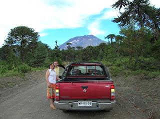 Parque Volcán Lonquimay, Chile, vuelta al mundo, round the world, La vuelta al mundo de Asun y Ricardo