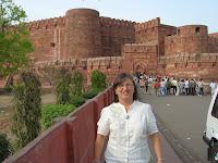Fuerte rojo, agra, india, vuelta al mundo, round the world, información viajes, consejos, fotos, guía, diario, excursiones