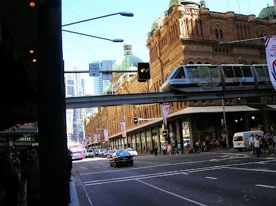 City Rail, monorail, Sidney, Sydney, Australia, vuelta al mundo, round the world, La vuelta al mundo de Asun y Ricardo