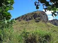 rano raraku, isla de Pascua, easter island, chile,vuelta al mundo, round the world, información viajes, consejos, fotos, guía, diario, excursiones