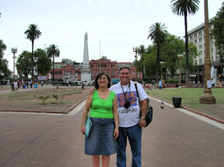 Plaza de Mayo, Buenos Aires, Argentina, vuelta al mundo, round the world, La vuelta al mundo de Asun y Ricardo