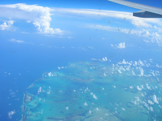 vista aérea bahamas, vuelta al mundo, Asun y Ricardo, round the world
