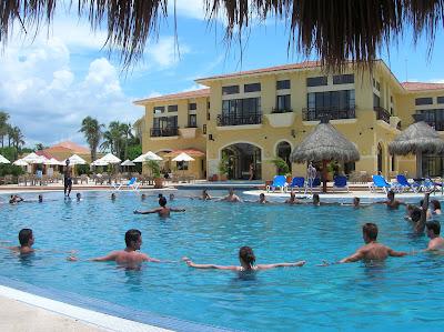 piscina hotel club tulum, cancun, méxico,vuelta al mundo, round the world, información viajes, consejos, fotos, guía, diario, excursiones