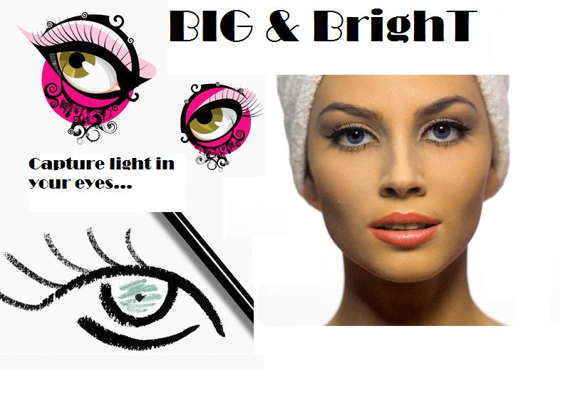 Makeup tips to make eyes look bigger