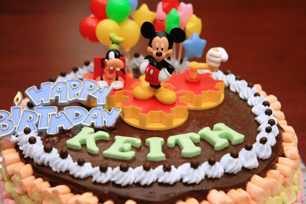Haven Bakery Keith Birthday Cake