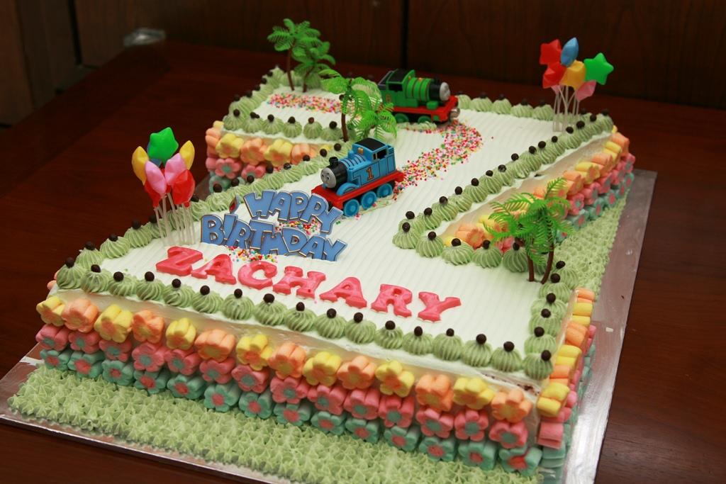 Haven Bakery Zachary Birthday Cake