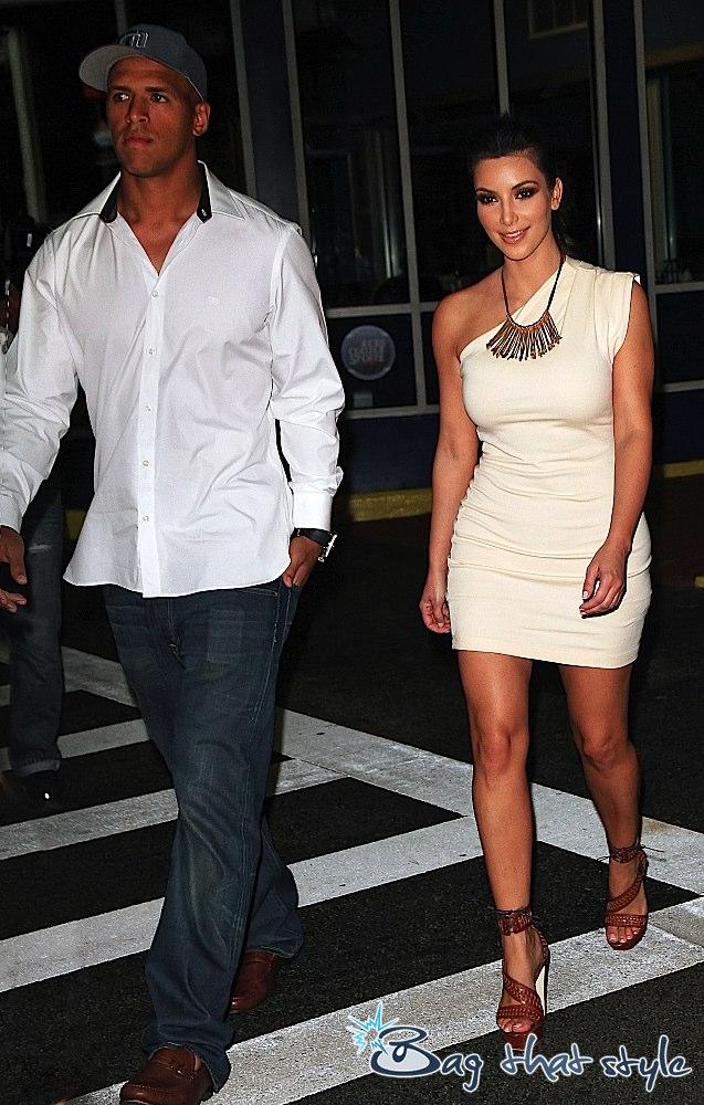 Red Soles And Spikes Celeb Shoe Watch Kim Kardashian