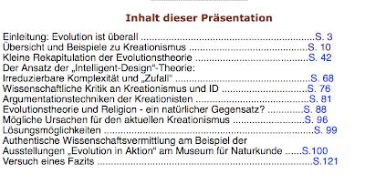Kreationismus Referat