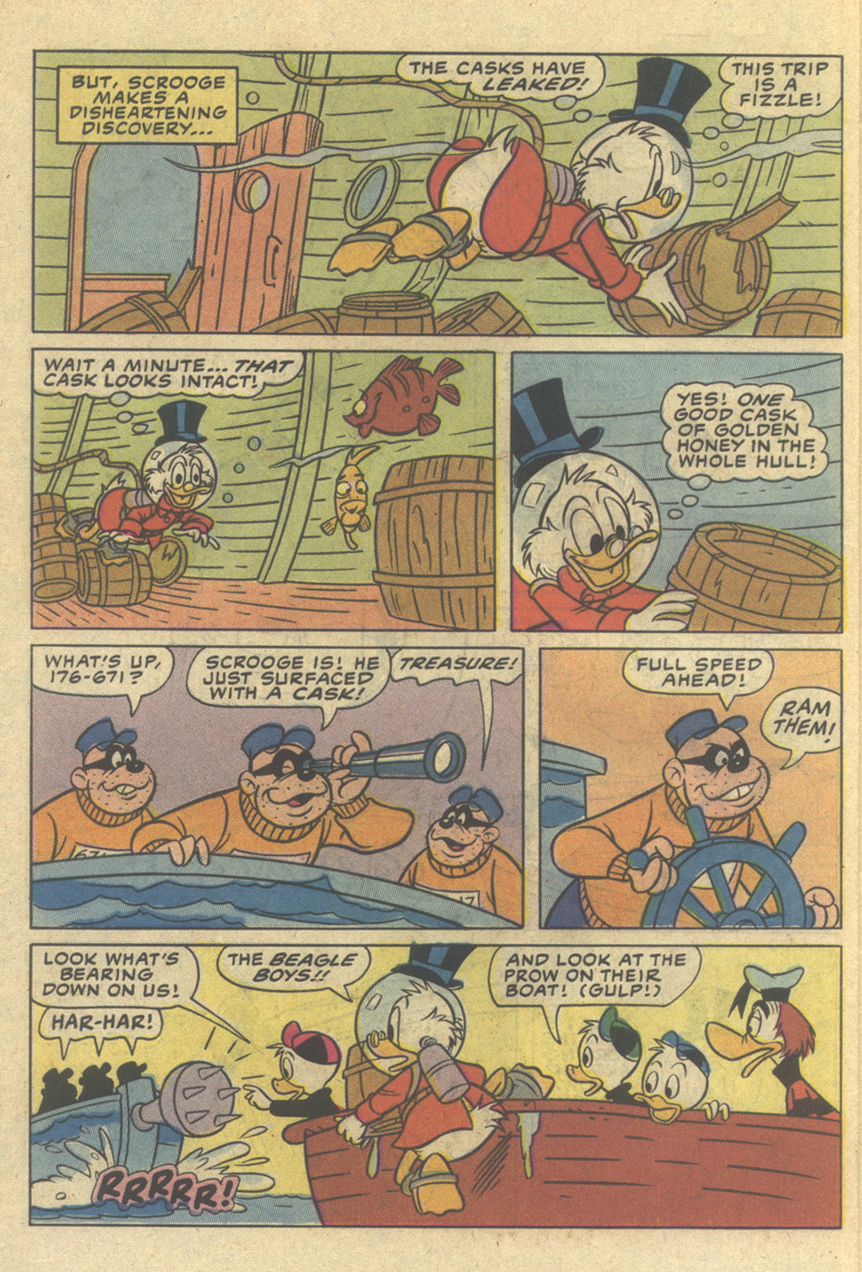 Read online Uncle Scrooge (1953) comic -  Issue #206 - 10