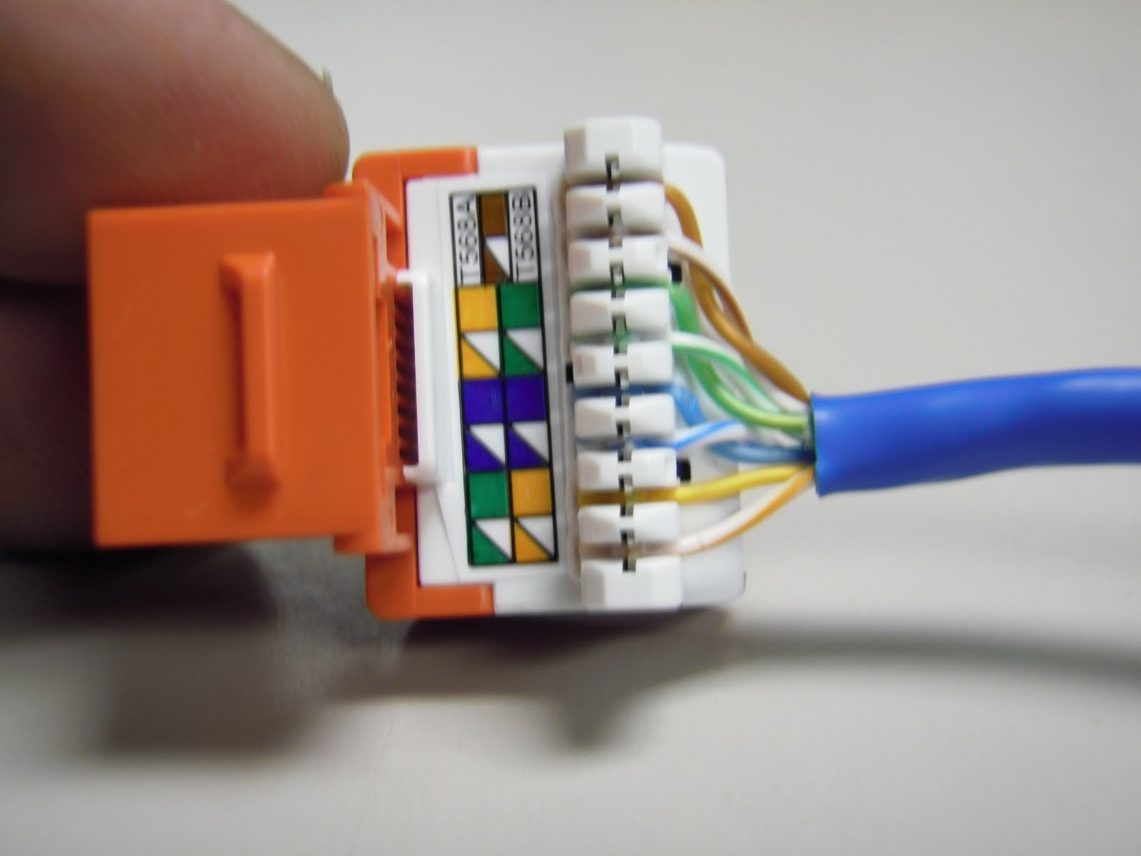 cat6 keystone jack wiring diagram color combinations for the trench how to punch down cat5e jacks
