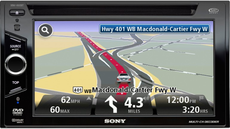 car navigation systems in dash autos post. Black Bedroom Furniture Sets. Home Design Ideas