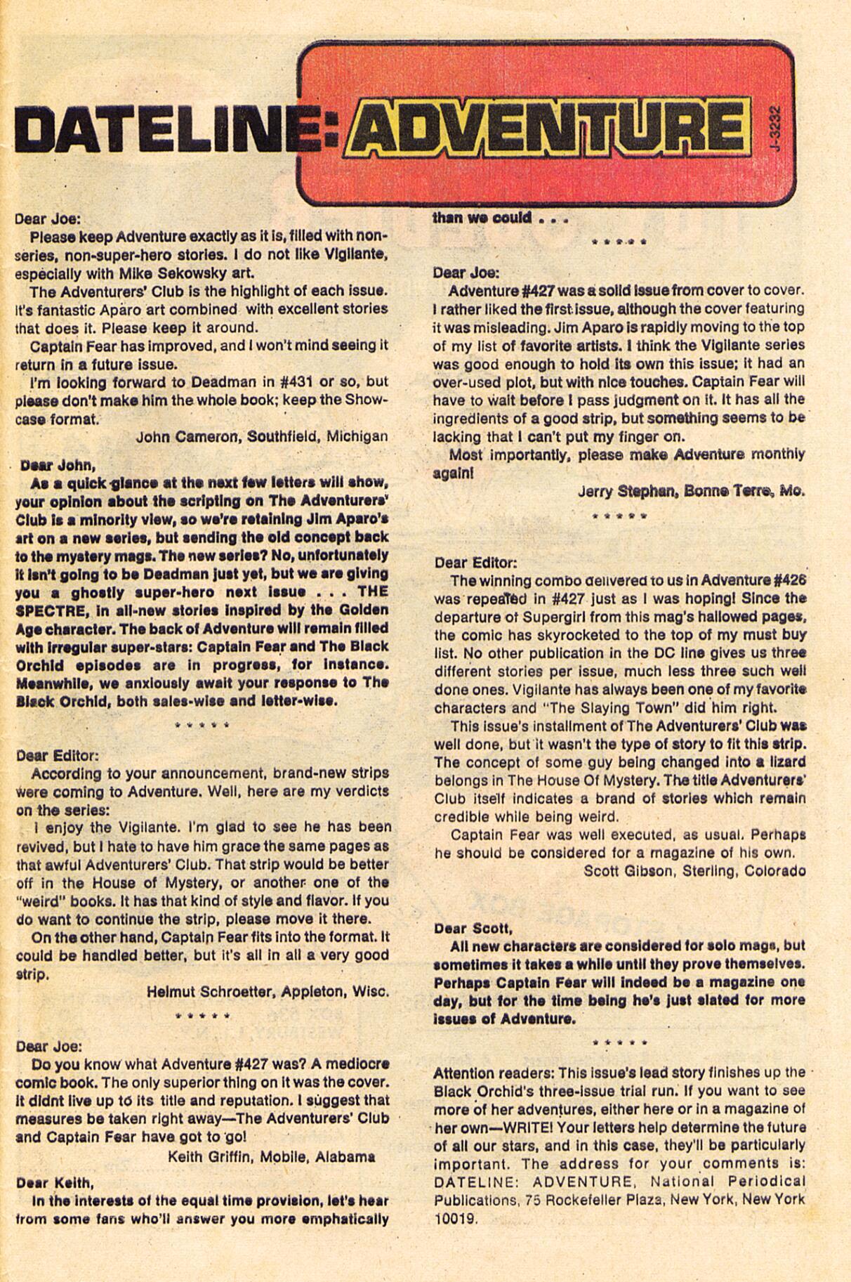 Read online Adventure Comics (1938) comic -  Issue #430 - 33