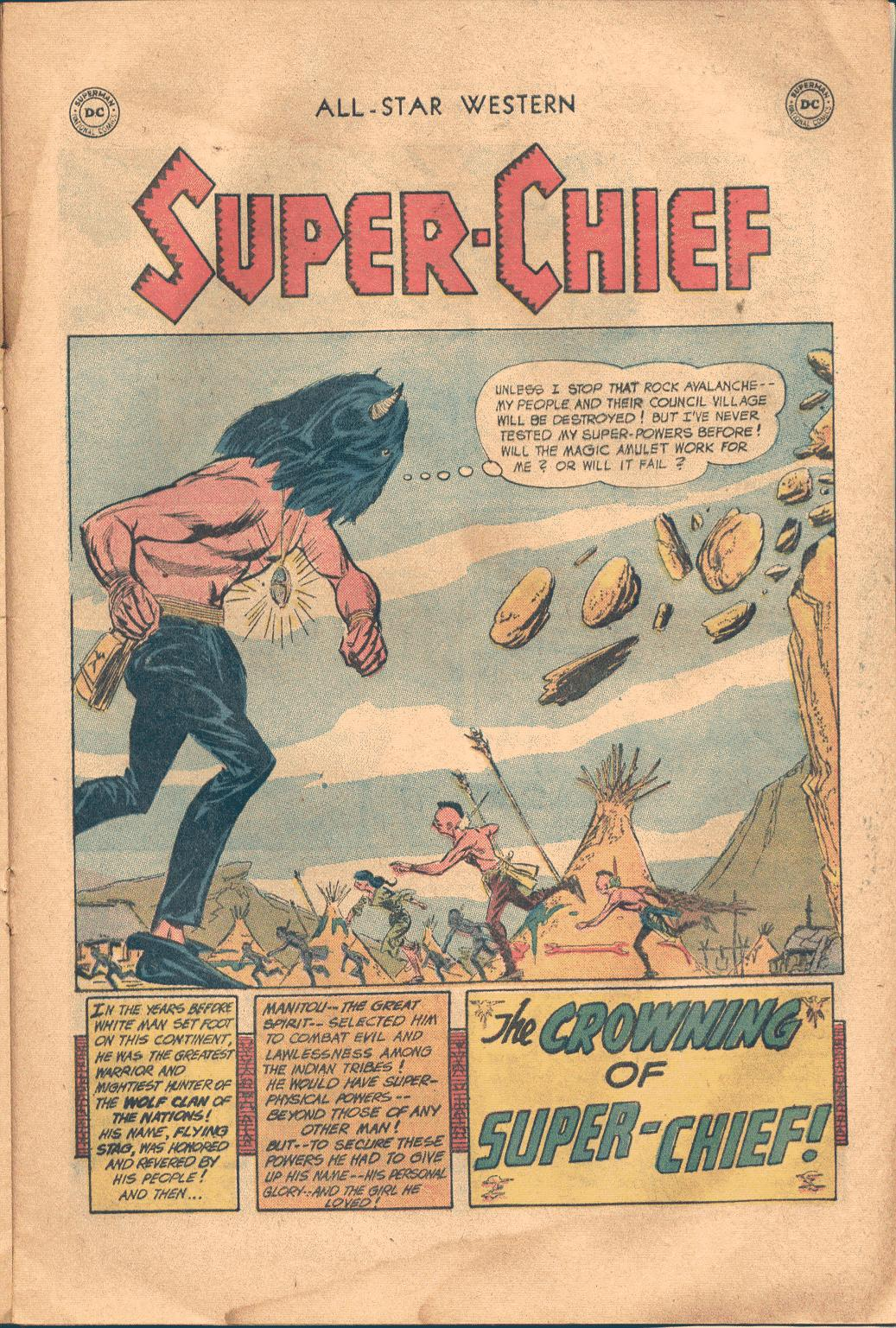 Read online All-Star Western (1951) comic -  Issue #117 - 20